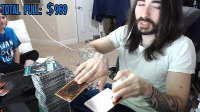 Charlie finding the worst Starlight card