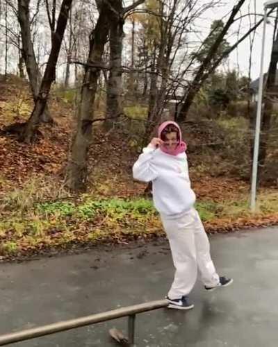 Skateboard trick