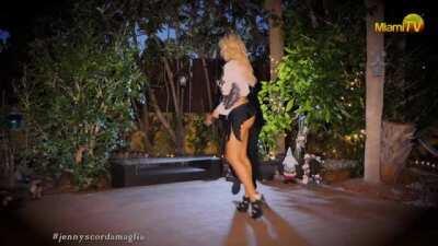 Jenny Scordamaglia @ Miami TV - Sexy Salsa Dance