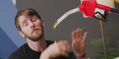 Linus Tech Tips when I pee on him