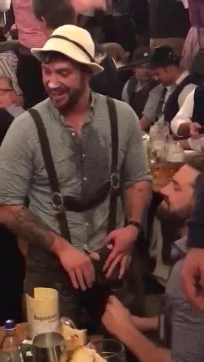 Oktoberfest hits totally different