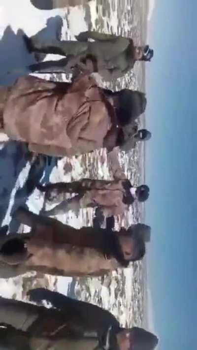 Indian Army doesn't seems to forget humour even during a conflict situation. After delivering few punches to Chinese PLA soldiers, Indian Army Jawan seen asking the Chinese PLA soldier: 'GolGuppe Khayega?' 😅