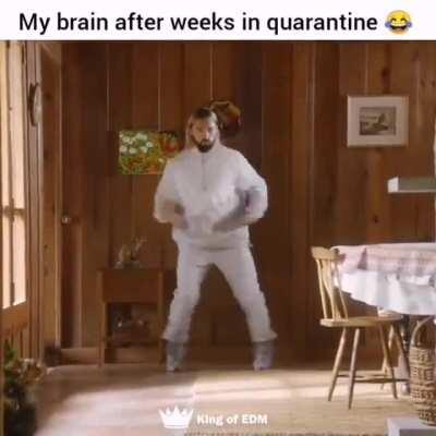 Salvatore Ganacci after weeks of quarantine 😂 🎥 king of EDM