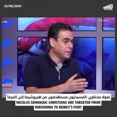 Nicolas Sehnaoui: Christians were targeted by the Beirut port explosion just like they were targeted in Hiroshima and Nagasaki