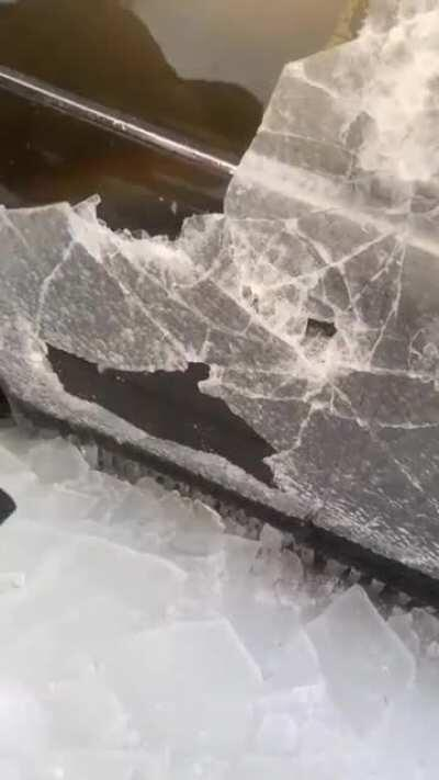 Ice world in Russia