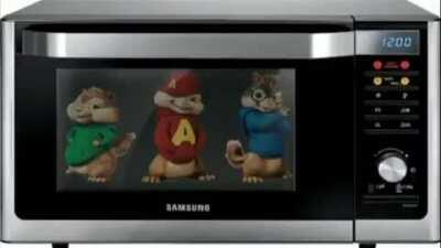 Which Chipmunk will suffer the most anguish being microwaved?