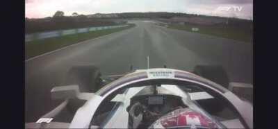 Grosjean Latifi uncensored radio after crash. Both POV
