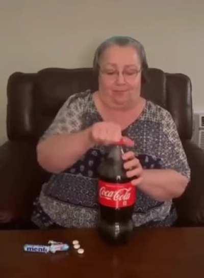 Coca Cola gurgle
