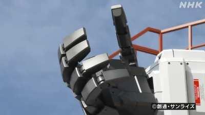 Йокогамский гандам, похоже, наконец-то полностью операбелен.