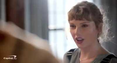 Taylor in a new commercial!