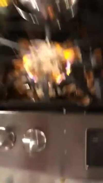 WCGW Putting a Glass/Ceramic bowl on a gas stove