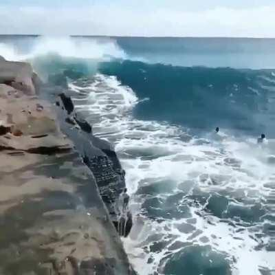 Ride a wave