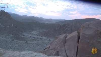 Taliban attacking ANA convoy in Pakistani mountains, 2019