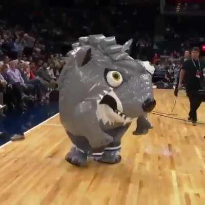 Interesting mascot.