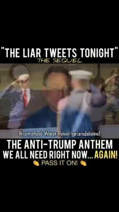 The Anti-Trump Anthem: The Liar Tweets Tonight