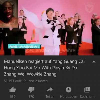 Manuellsen reagiert auf Yang Guang Cai Hong Xiao Bai Ma