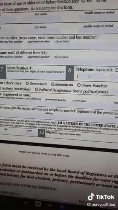 Mail-in voter fraud is easy!