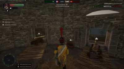 Drummer in HoldFast: Nations at War taken prisoner