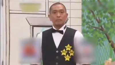 Japanese guy wins a game show