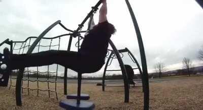 HMBT while i try gymnastics
