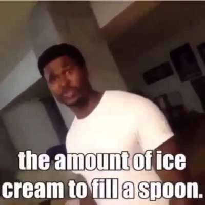 Only a spoonful