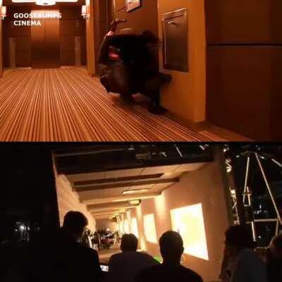 Нолан снял эпизод без компьютерной графики (