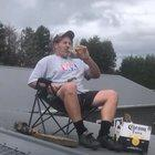 Day 13: My wife still thinks I'm working on the roof