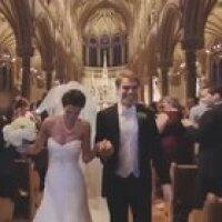 Marriage in a beautiful church