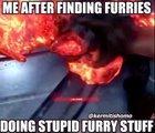 Cuando encuentro furries