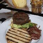 [I ate] raclette burger