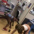 Singing a song about drinking Hennessy and taking Plan B while twerking in a local drug store.