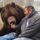 Became friend to a big bear