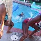 HMC while I nearly drown in the middle of this girls twerk video