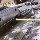 Ambulance crashes into another Ambulance
