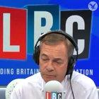 Nigel Farage getting pranked on air