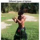 Different types of fighters
