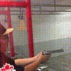 Just practicing at the range