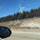 Blade size of a wind turbine