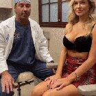 Model Hannah Palmer gets a Plastic Surgeon to prove to her fans that her boobs are NOT fake (xpost from /r/CelebGroped)
