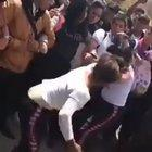Fight between two girls.... and a boy