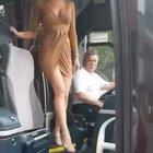 You can tell this must never get old this for this bus driver