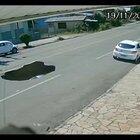 Potholes are dangerous