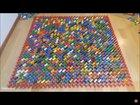 Worlds largest domino pyramid