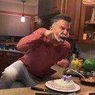 Dadosaur wants a piece of cake