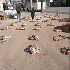 In Turkey, people have started leaving food packets on the road for people who can't make money due to coronavirus.