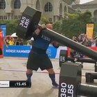 Björnsson 'the Mountain' Strongest M.F. on earth even his competitor stopped to watch