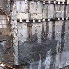 Retaining wall failure in Turkey