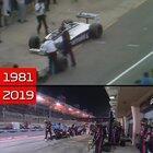 F1 pit stops in 1981 vs 2019