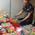 Teaching kids how to use a slinky