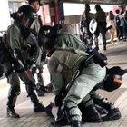 Hong Kong Police attack Pregnant woman.